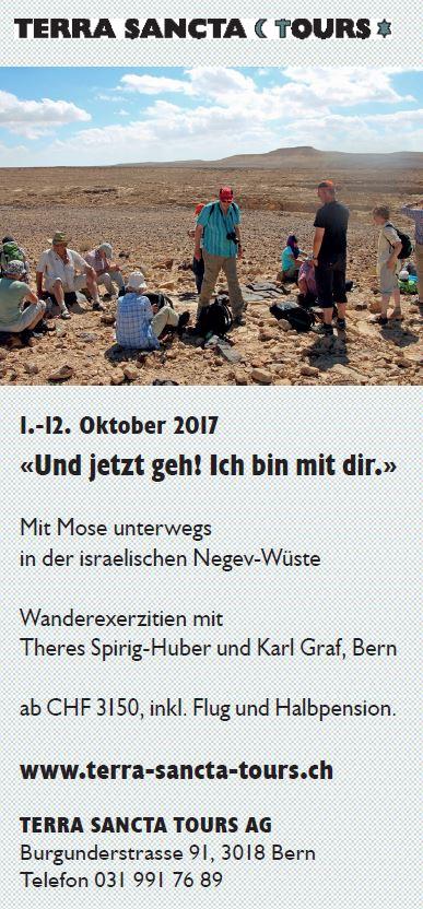«Und jetzt geh! Ich bin mit dir.» @ Negev-Wüste | Südbezirk | Israel
