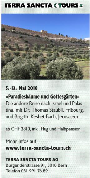 «Paradiesbäume und Gottesgärten» – Die andere Reise nach Israel und Palästina @ Israel und Palästina | Israel