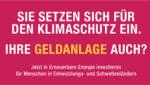 Oikocredit: Einsatz für den Klimaschutz