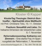 Kloster Kappel im Herbst