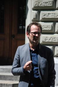 Nationalrat Balthasar Glättli fordert die Aufnahme von 100000 Flüchtlingen (Foto: Wolf Südbeck-Baur)