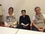 Hanna Kandal, Rifa'at Lenzin und Ruth Gellis auf dem Podium (Foto: Gisler-Fischer