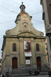 Mit Berufung auf die Bibel schützte die reformierte Kirchgemeinde St. Laurent in Lausanne über ein Jahr acht Asylsuchende. (Foto: Südbeck-Baur)