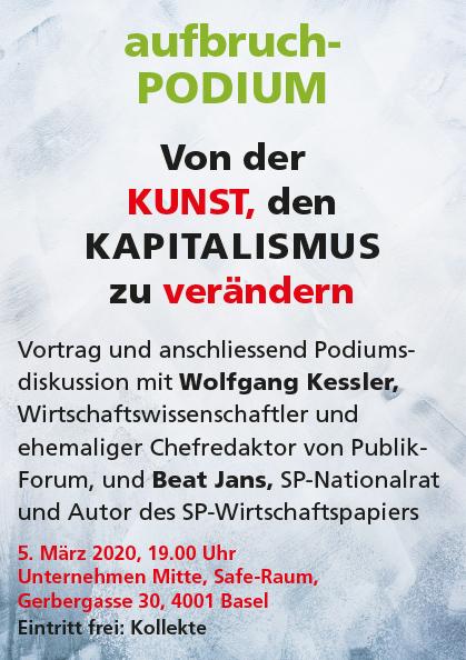 aufbruch-Podium zum Kapitalismus @ Unternehmen Mitte, Safe-Raum